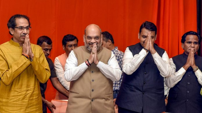 Exit polls show BJP-Shiv Sena set to win Maharashtra again, but with fewer seats than 2014