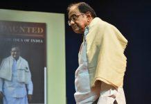 Senior Congress leader P Chidambaram at the launch of his book 'Undaunted', in New Delhi | Arun Sharma/PTI