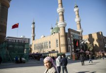A Mosque in Xinjiang