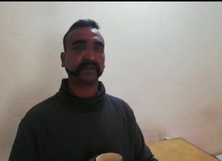 IAF pilot Abhinandan Varthaman in Pakistan custody | @OfficialDGISPR/twitter