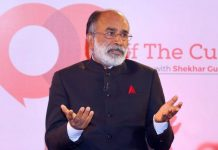 Union tourism minister K. J. Alphons at Off The Cuff | ThePrint