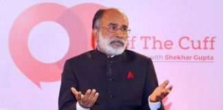Union tourism minister K. J. Alphons at Off The Cuff   ThePrint