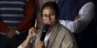 Mamata Banerjee addresses media after coming out of Kolkata Police Commissioner Rajeev Kumar's residence, in Kolkata   Swapan Mahapatra/PTI