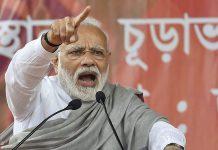PM Narendra Modi at a rally in Jalpaiguri district of West Bengal | Swapan Mahapatra/PTI