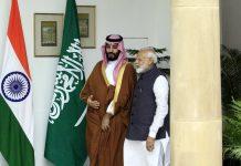 PM Narendra Modi with Saudi Crown Prince Mohammed bin Salman in Hyderabad house   Praveen Jain