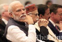 PM Narendra Modi at Gandhi Peace Prize award at Rashtrpati Bhawan in New Delhi | Praveen Jain/ThePrint