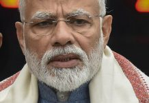 Prime Minister Narendra Modi on the first day of the Budget Session | PTI