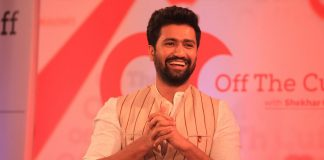 Actor Vicky Kaushal during Off The Cuff