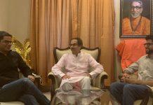 JD(U) vice-president Prashant Kishor meets Shiv Sena chief Udhav Thackeray and Aaditya Thackeray | @PrashantKishor/Twitter