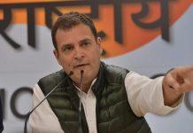 Rahul Gandhi at the press conference | Praveen Jain/ThePrint