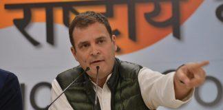 Rahul Gandhi at the press conference   Praveen Jain/ThePrint