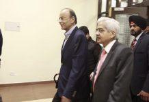 Finance Minister Arun Jaitley with RBI Governor Shaktikanta Das
