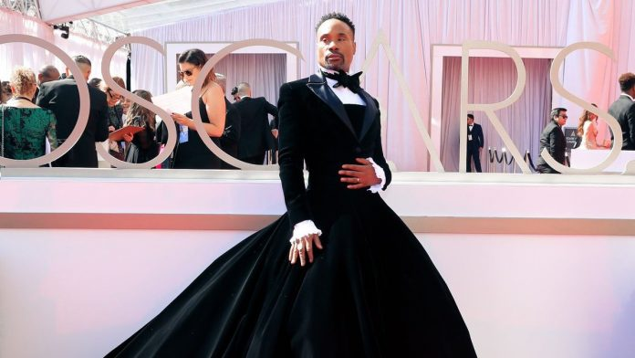 Actor Billy Porter at the Oscars red carpet | @TheAcademy/Twitter