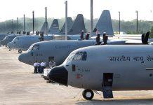 C-130 J Super Hercules aircraft