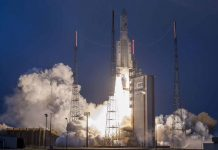 The GSAT-31 was successfully launched from from French Guiana today