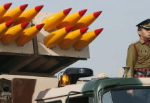 An Indian Army rocket artillery vehicle | Representational image | Bloomberg