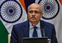 Foreign Secretary Vijay Gokhale briefs the media on India's major preemptive strike on Jaish-e-Mohammed's biggest camp