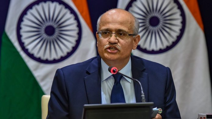 Foreign Secretary Vijay Gokhale briefs the media on India's major preemptive strike on Jaish-e-Mohammed's biggest camp