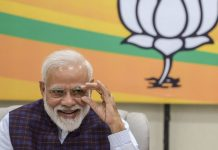 PM Narendra Modi during the BJP Central Election Committee  Vijay Verma/PTI