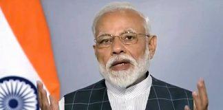 Video grab of PM Modi's announcement of the success of Mission Shakti   PTI