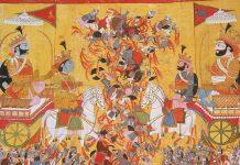 The battle of Kurukshetra in Mahabharata   Commons
