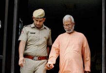 File photo of Aseemanand being escorted by police personnel | PTI