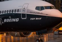 A Boeing 737 MAX 8 jet