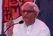 File photo of former West Bengal CM Buddhadeb Bhattachary | Ashok Nath Dey