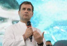 Congress president Rahul Gandhi addressing the National Fishermen Parliament