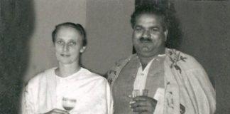 Freda Bedi, with her husband B.P.L. Bedi at Srinagar, 1948 | Commons