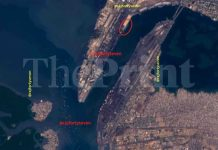 Satellite imagery of Karachi port | Col. Vinayak Bhat (retd) /ThePrint