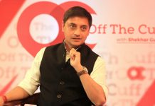 Sanjeev Sanyal at Off The Cuff in Mumbai | ThePrint