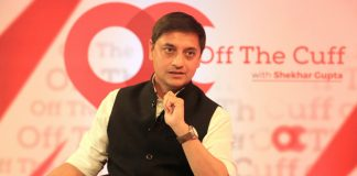 Sanjeev Sanyal at Off The Cuff in Mumbai | ThePrint