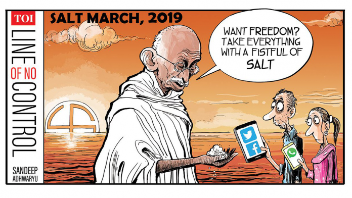 A 'fistful' of salt from the Mahatma as a Surf Excel ad faces flak