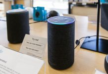 An Echo smart speaker inside an Amazon store in Berkeley, California | Cayce Clifford/Bloomberg
