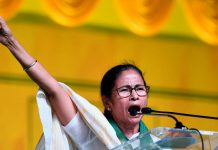 West Bengal CM Mamata Benerjee during poll campaign in Visakhapatnam | PTI