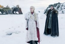 Daneary's and Jon Snow along with Drogon and Rhaegal