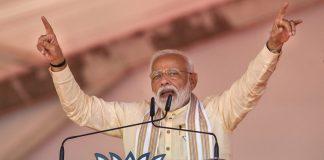 PM Narendra Modi addresses an election rally | PTI