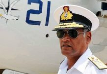 File photo of commander-in-Chief of Andaman and Nicobar Command Vice Admiral Vimal Verma | By special arrangement