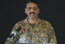 File image of Pakistan Army's spokesman Asif Ghafoor
