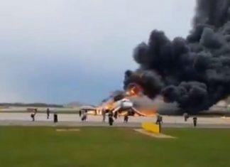 Aeroflot plane catches fire killing 41 passengers