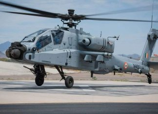 Boeing's Apache Guardian attack helicopter