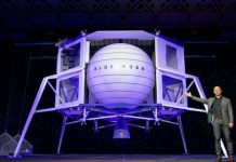 Jeff Bezos reveals his company's lunar lander
