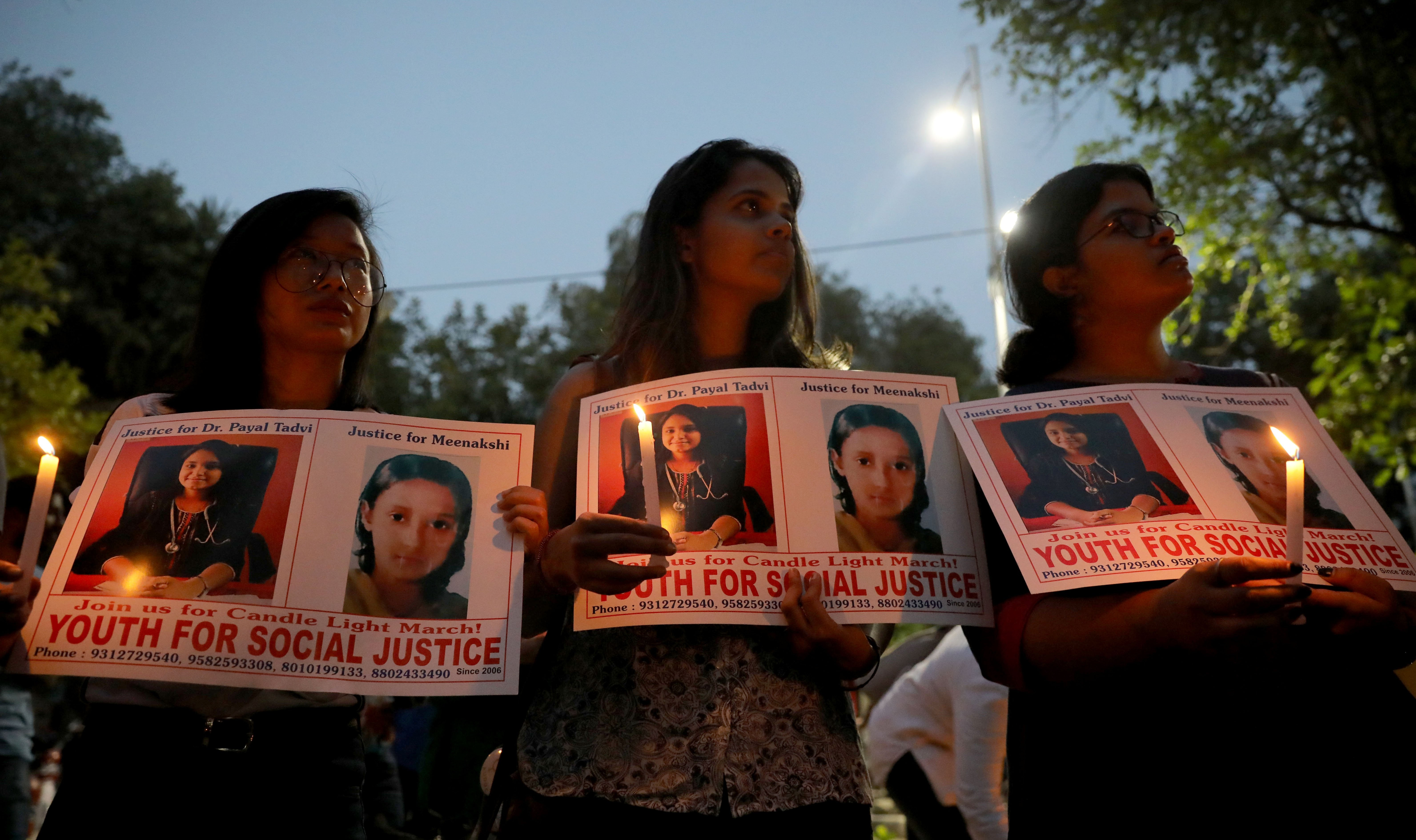 Mumbai cops suspect 'suicide note' of Dr Payal Tadvi was