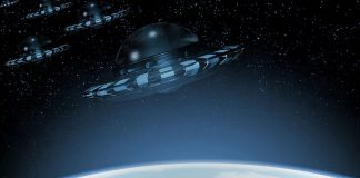 Representational image of UFOs
