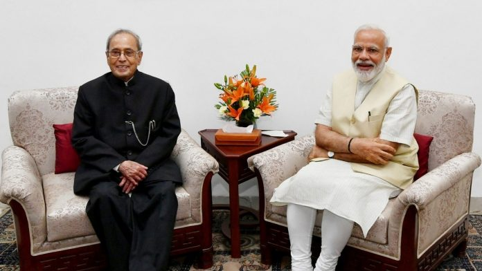 Pranab Mukherjee and Subramanian Swamy have a message each for PM Modi