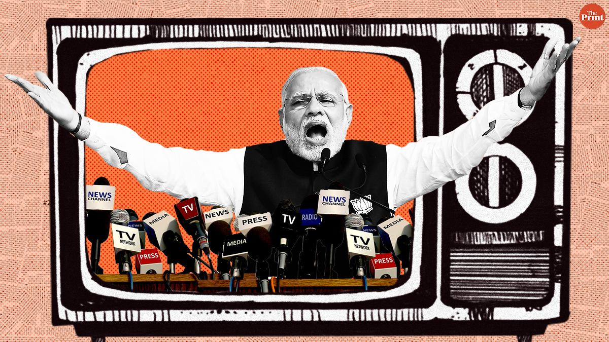 Media-bashing as a political strategy works for Modi. The opposition could use it too