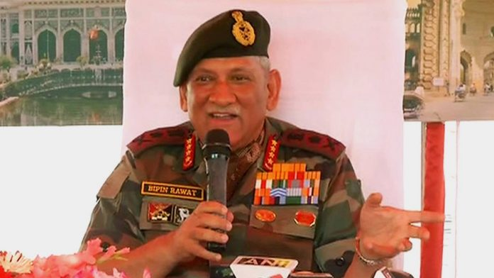 Chinese soldiers did not intrude into Indian territory, says Army Chief Bipin Rawat