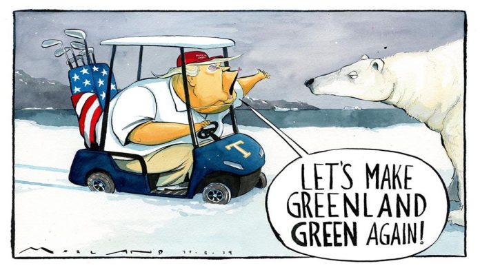 Trump's plan to make Greenland green again, and Jeremy Corbin's PM ambitions