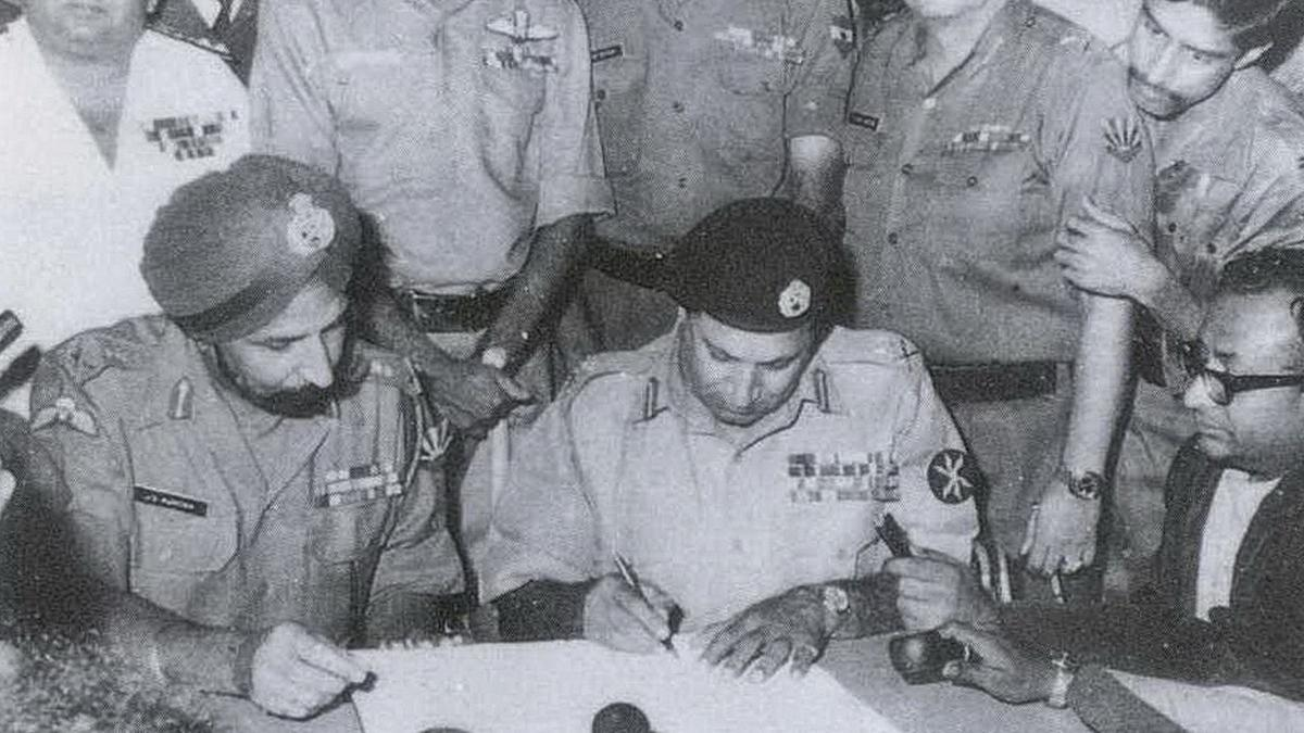 As a young captain in 1971 Bangladesh war, I gave Pakistan's Lt-Gen the letter to surrender